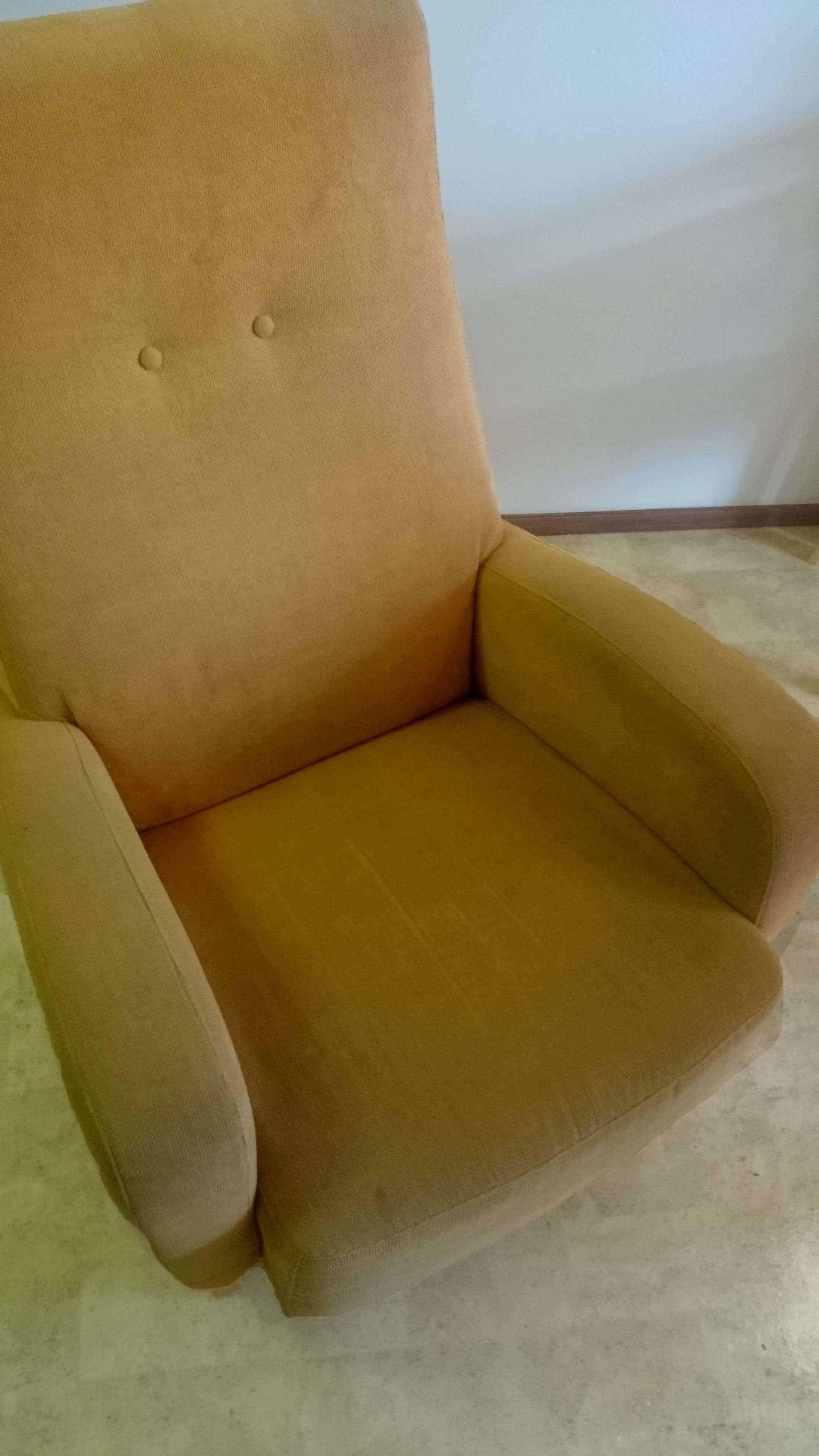 tuoli ennen pesua