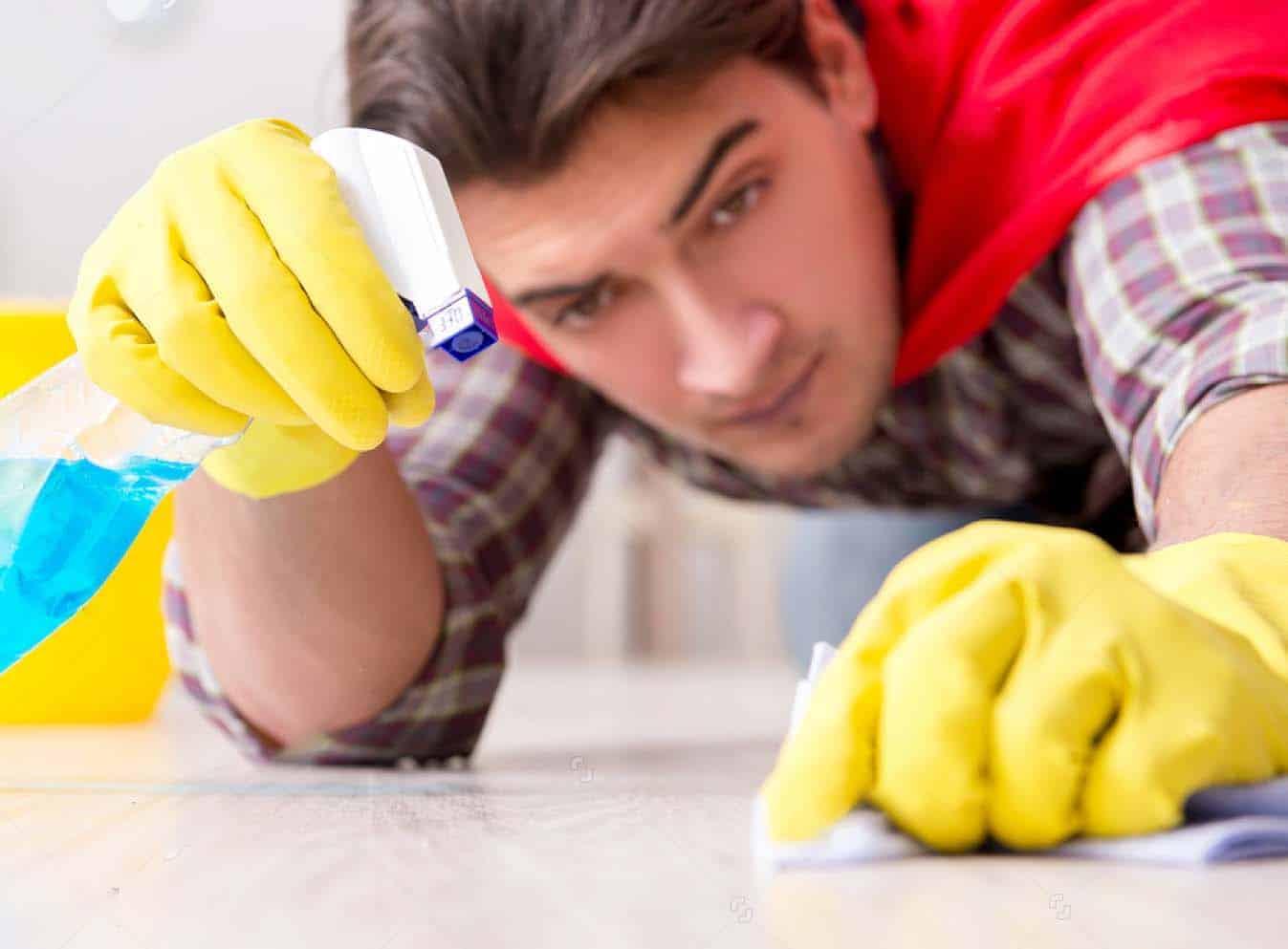 Ammattimainen siivousjälki