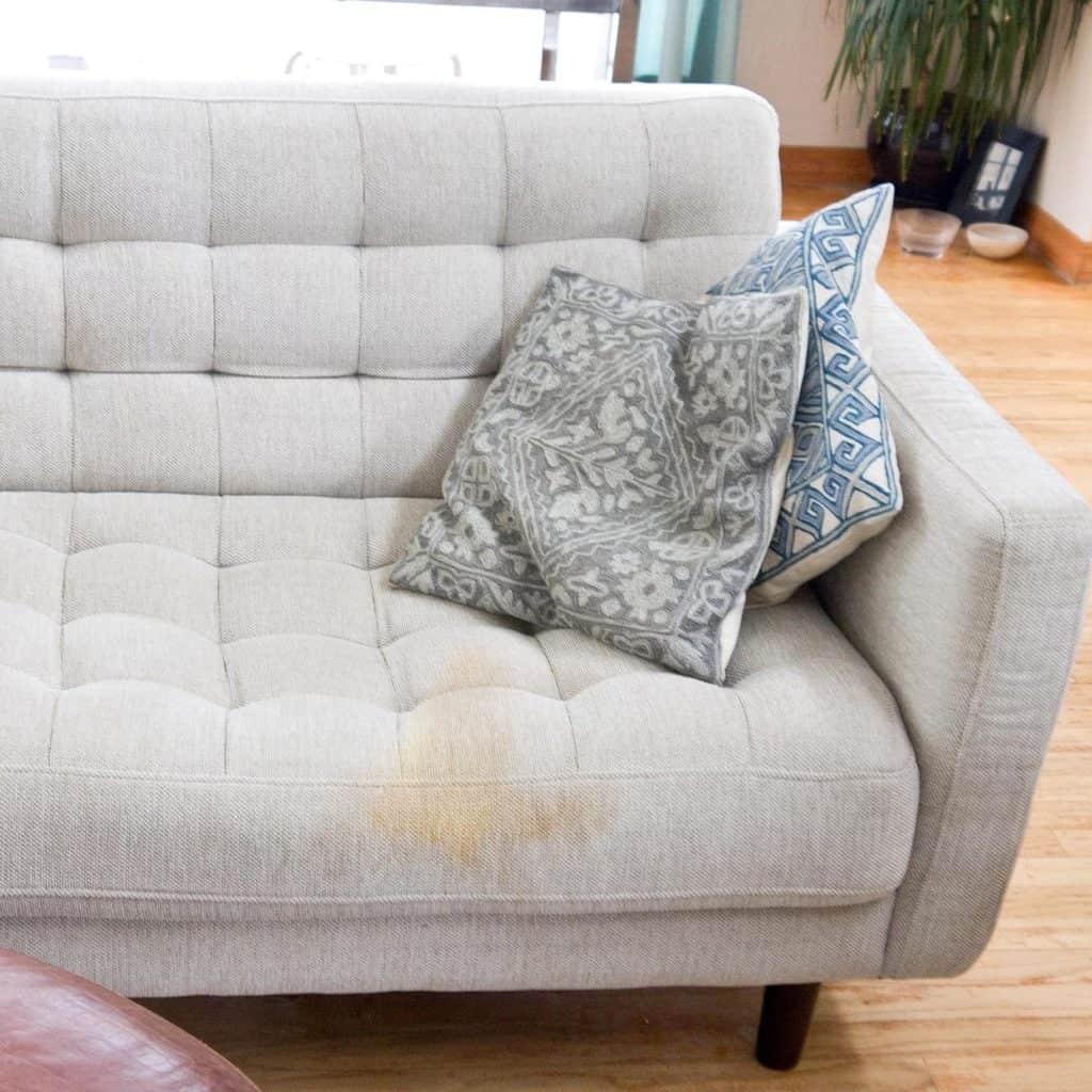 sohvan pesu