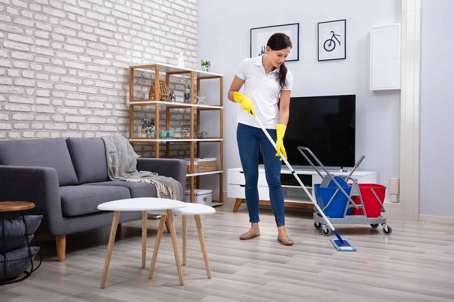 siivooja kotiin